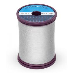 753-1236 Light Silver 50 Wt. Cotton Thread Spool