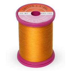 753-1238 Orange Sunrise 50 Wt. Cotton Thread Spool