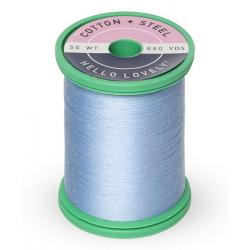753-1292 Heron Blue 50 Wt. Cotton Thread Spool