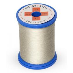 753-1321 Gray Khaki 50 Wt. Cotton Thread Spool