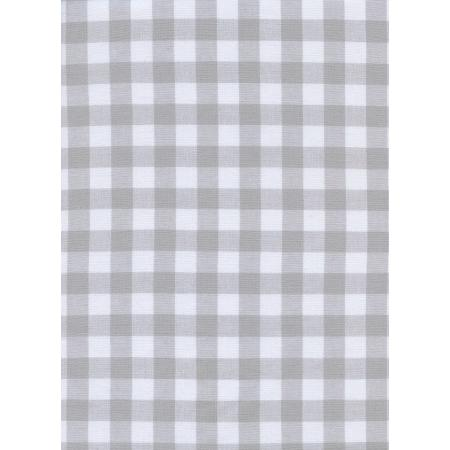 "C5091-002 Checkers - 1/2"" Gingham - Linen Fabric"