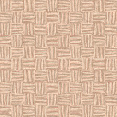 LV305-SP5C Along the Fields - Haystack - Summer Peach Canvas Fabric 1
